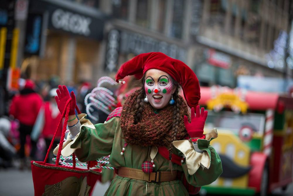 Парад Санта-Клауса - Santa Claus Parade (Défilé du Père Noël) | Монреаль
