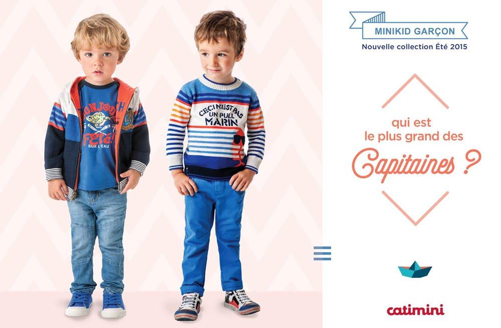 Catimini 2015 Весна-Лето | Детская одежда