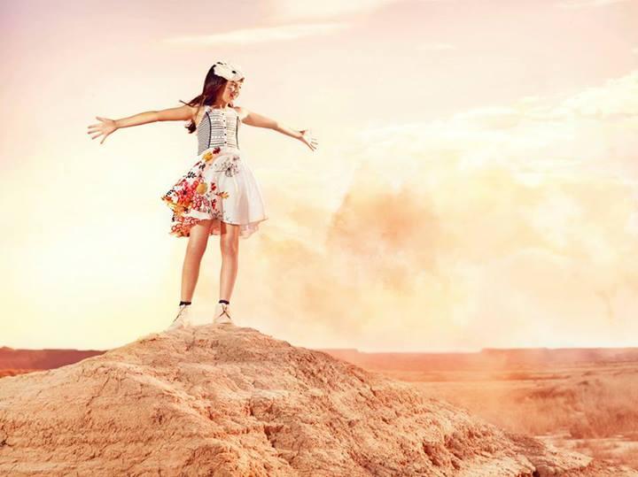 Catimini новая коллекция детской одежды Лето 2014