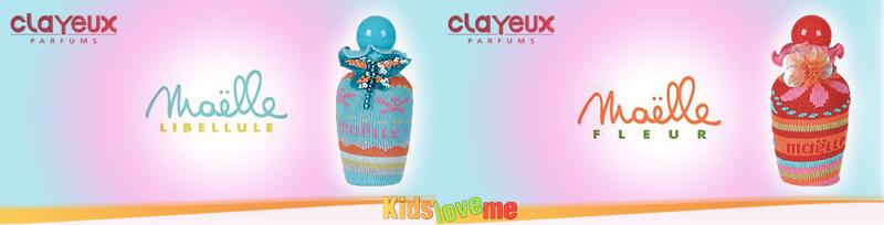 Детская туалетная вода (духи) «Maelle Pour Enfant» из Франции от Clayeux