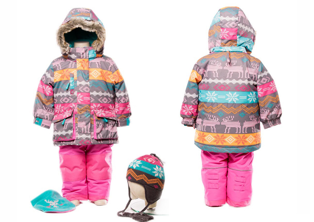 Детские зимние комбинезоны Deux par Deux 2015