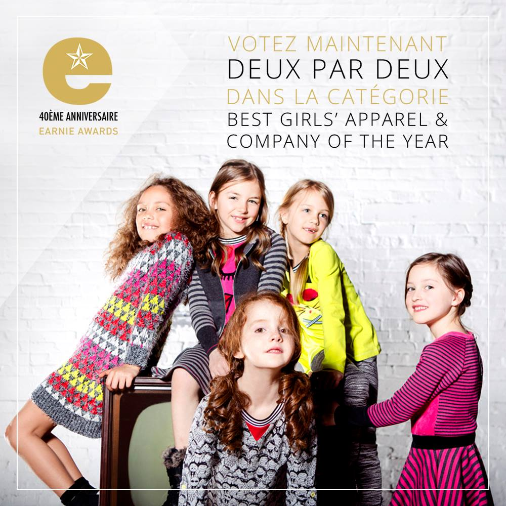 deux par deux earnie awards 2017