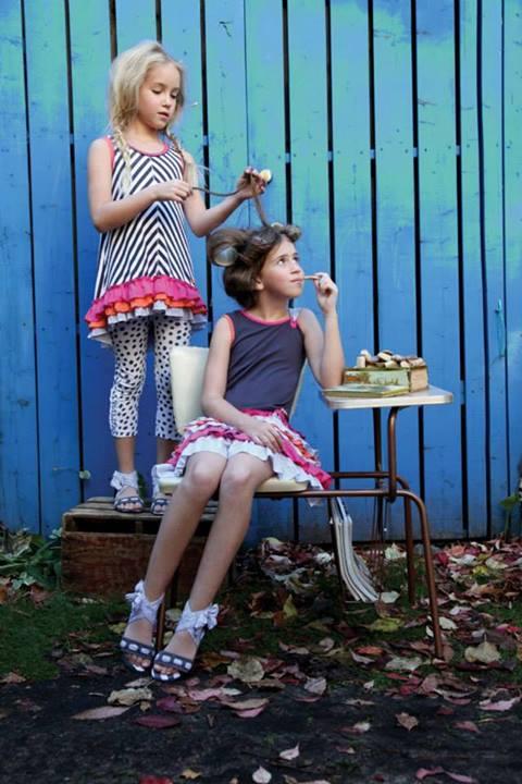 Deux par Deux новая коллекция детской одежды Лето 2014