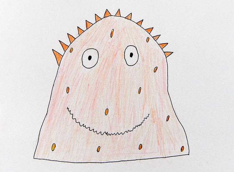 Конкурс детских рисунков «Монстрики 2014» в интернет магазине детской одежды Kidslove.me | Рисунок участника