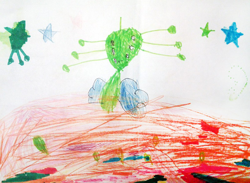 Конкурс детских рисунков «Монстрики 2014» в интернет магазине детской одежды Kidslove.me | Работы участников конкурса