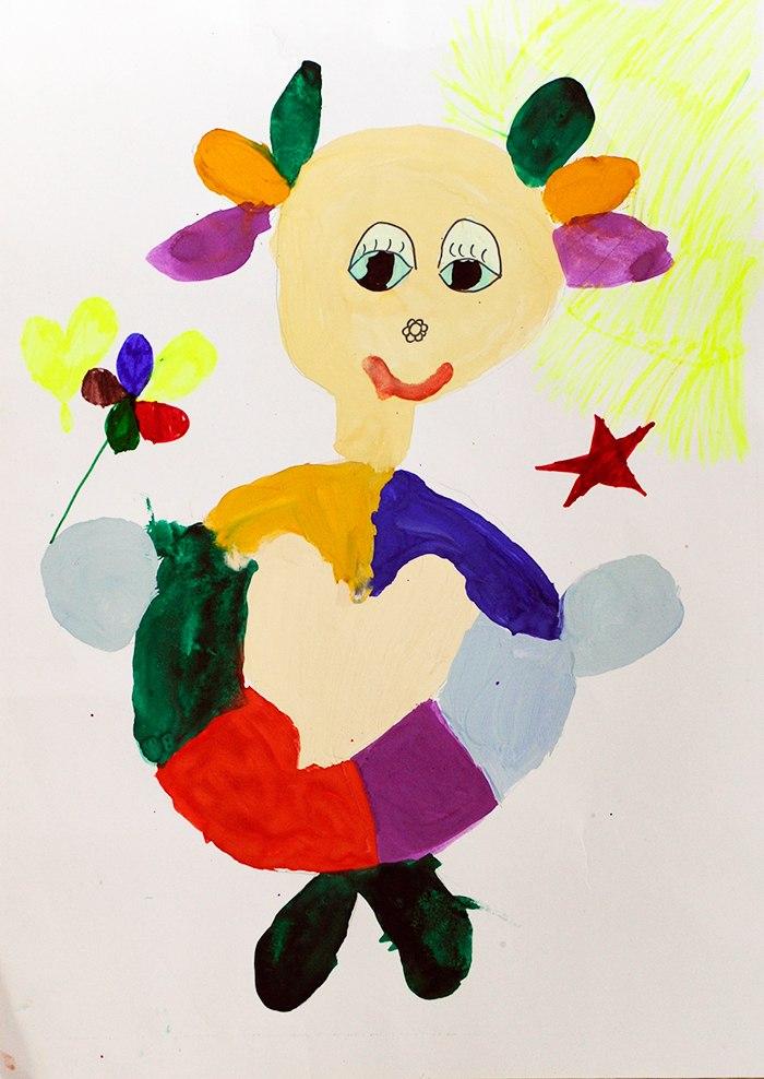 Конкурс детских рисунков «Монстрики 2014» в интернет магазине детской одежды Kidslove.me | Юлиана 7 лет