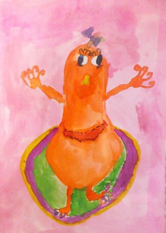 Конкурс детских рисунков «Монстрики 2014» в интернет магазине детской одежды Kidslove.me | Алла 5 лет