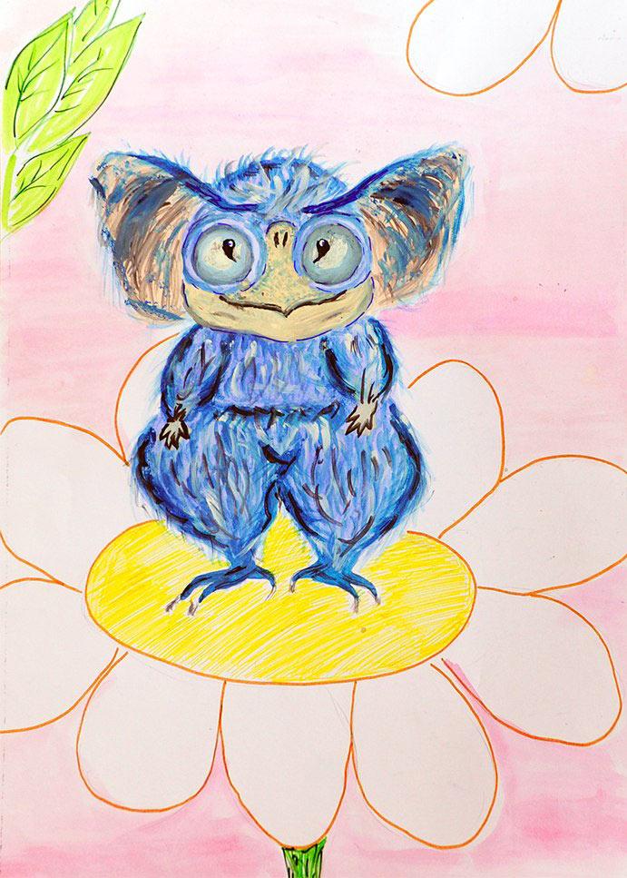 Конкурс детских рисунков «Монстрики 2014» в интернет магазине детской одежды Kidslove.me | Мила, 14 лет