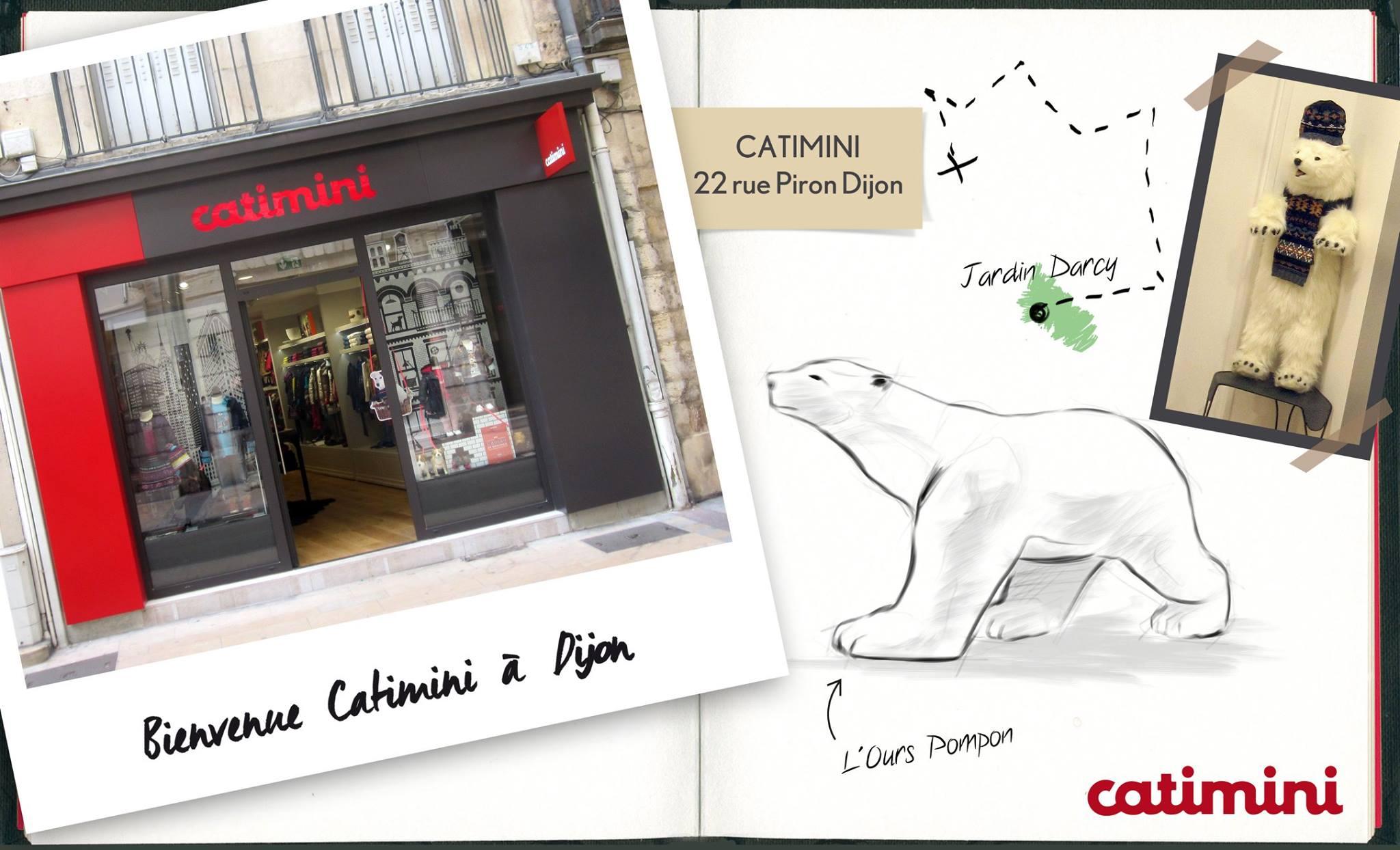 Магазин Catimini в Дижоне (Франция)