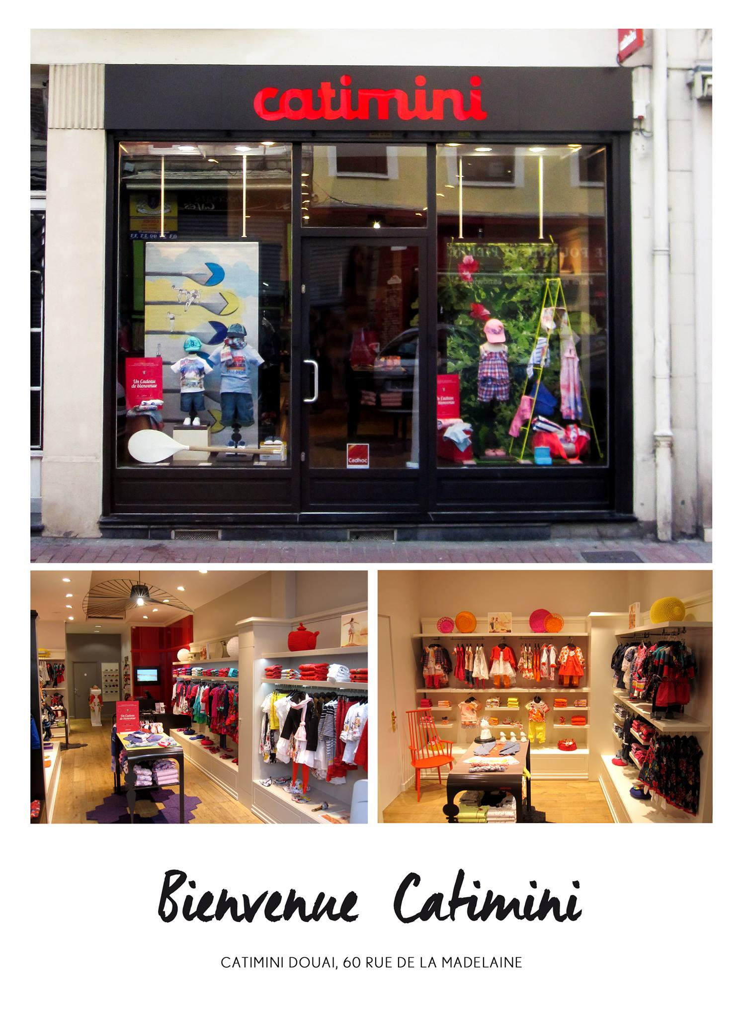 Магазин Catimini на улице Мадлен в Дуэ (Франция)
