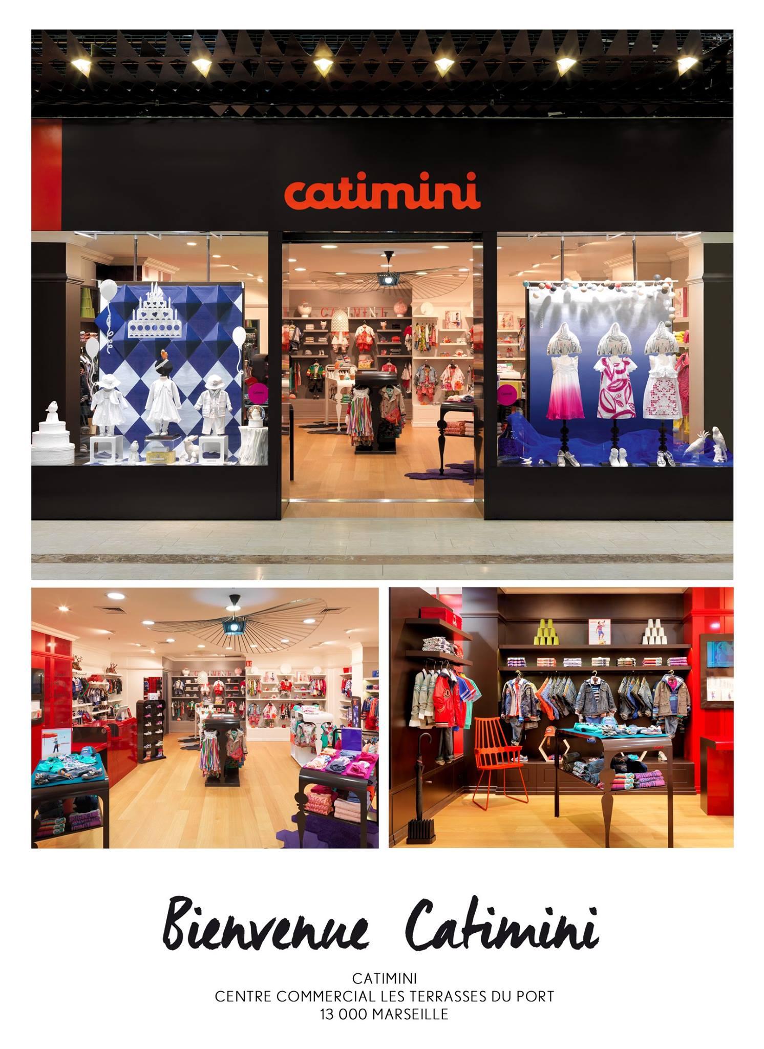 Магазин «Boutique Catimini de Marseille» в Марселе, в торговом центре «Terrasses du Port»