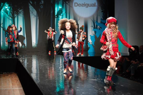 Dasigual детская одежда | Выставка Children's Fashion From Spain – «The Enchanted Wood»