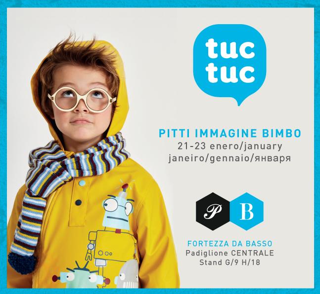 Детская одежда Tuc Tuc на выставке Pitti Bimbo 2016 в Испании. Новая коллекция