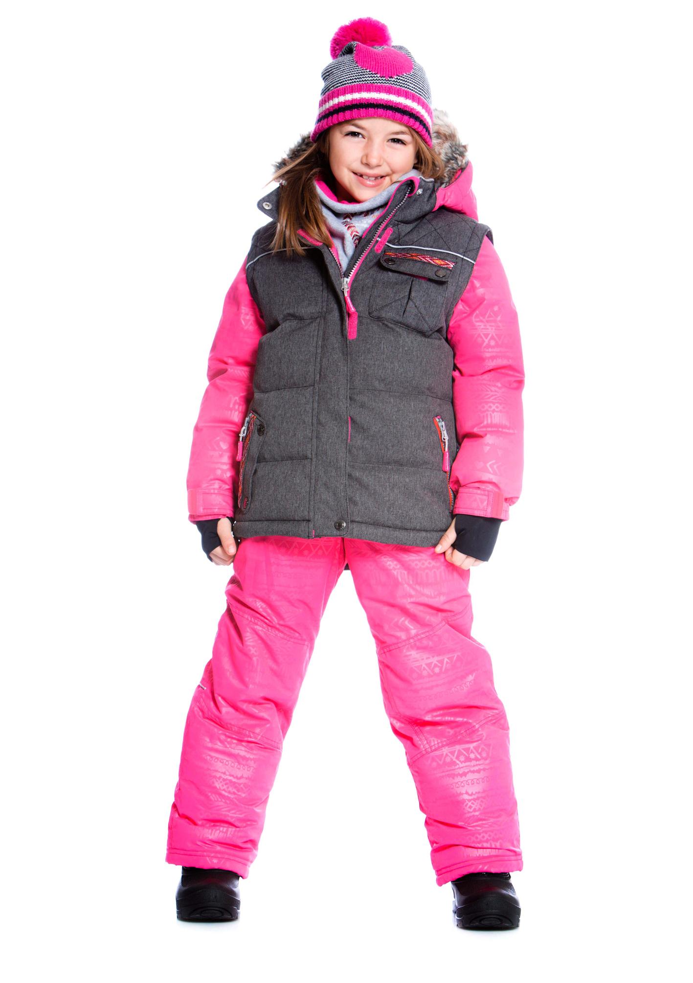 Детские зимние костюмы для девочек deux par deux