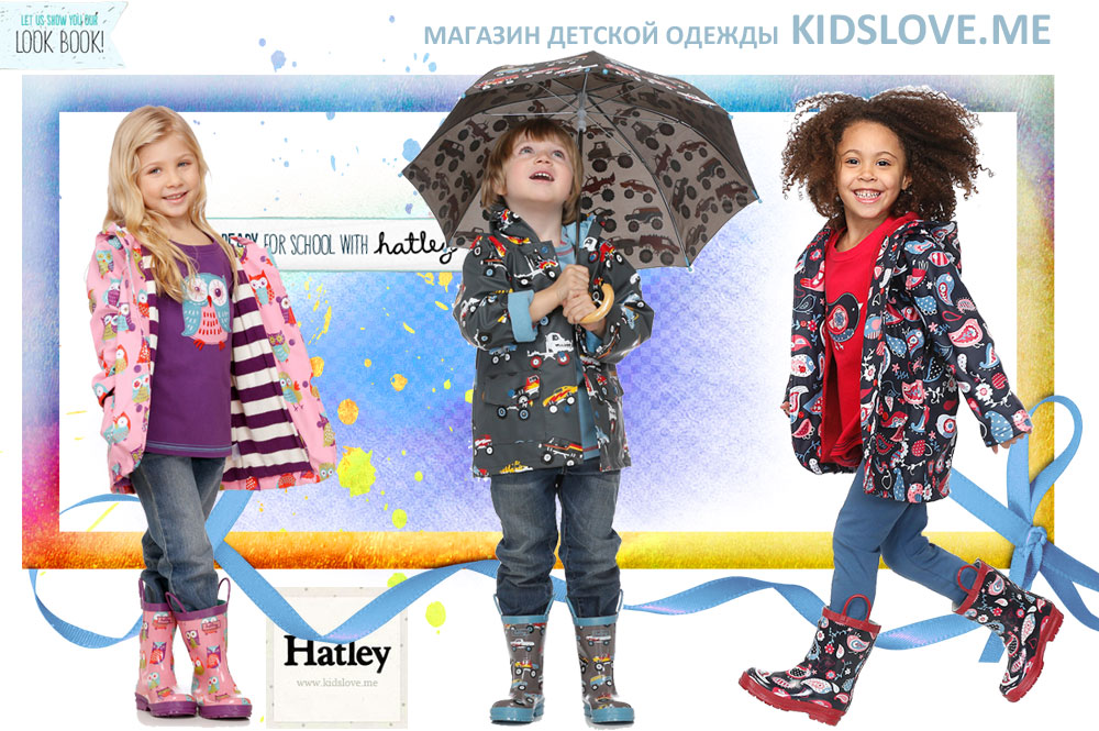 Hatley детская одежда, одежда для детей