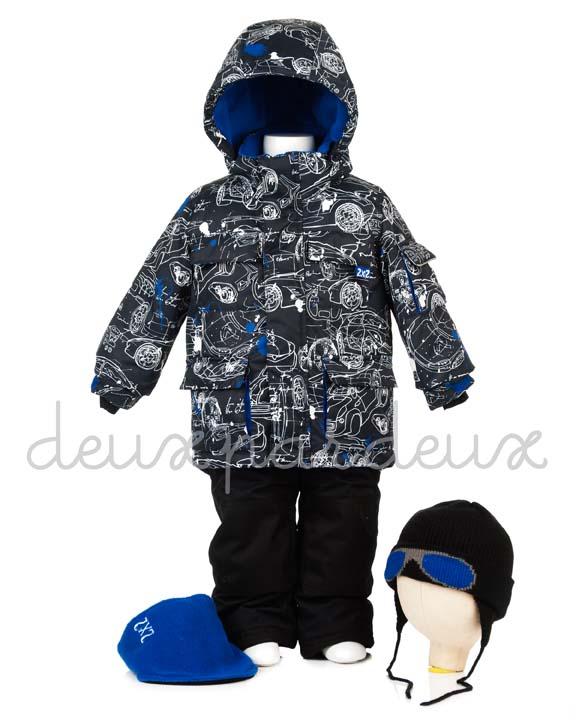 Костюм зимний для мальчика (манишка в комплекте). Deux Par Deux *Winter* Костюм детский