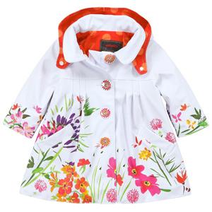 Детские куртки для девочек, плащи для девочек Catimini, Tuc Tuc, Hatley, Deux par Deux