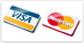 Оплата заказа интернет магазина банковской картой VISA или MasterCard