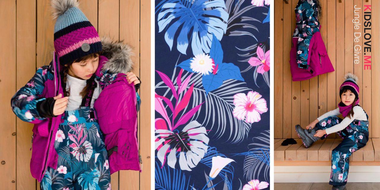 Детские зимние комбинезоны, куртки и комплекты Deux par Deux  2020 - 2021 | Мембрана, свободные руки, я расту