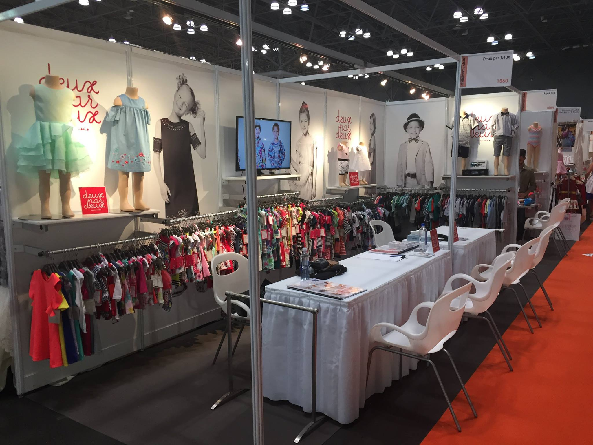 Deux par Deux на «Children's Club 2017» в Javits Center