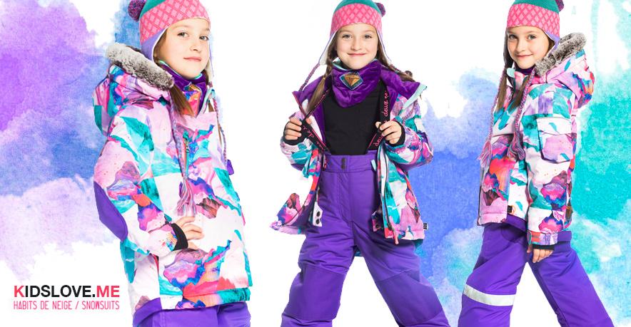 Детские зимние комбинезоны Deux par Deux 2019 W18 купить в официальном интернет-магазине