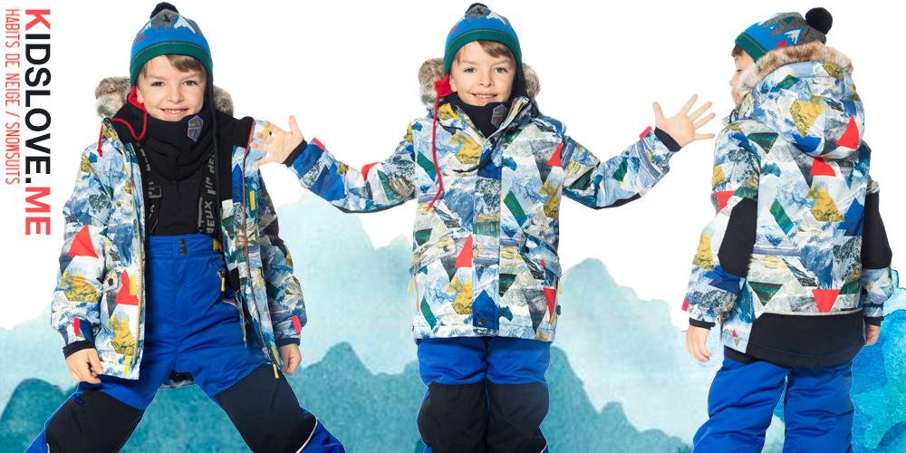 Детские зимние куртки для мальчиков Deux par Deux W18 2019