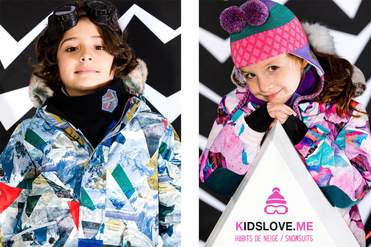 Детские зимние комбинезоны Deux par Deux 2019 W18 Зима | Официальный сайт интернет магазина Deux par Deux 2019